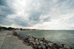 Cieux sombres au-dessus de la Bulgarie Image libre de droits