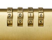 Cifra con 2016 numeri Immagine Stock Libera da Diritti