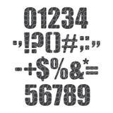 Cifra del cavo Fotografia Stock