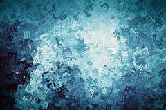 Cifre astratte, fondo di numeri Per la matematica, finanza illustrazione di stock