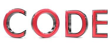 Cifre la palabra 3d Imagen de archivo libre de regalías