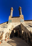 Cifte Minaret Madrasa - Double Minaret in Sivas Stock Photo