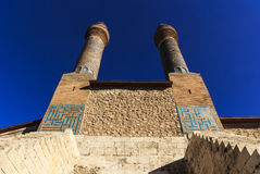 Cifte Minaret Madrasa - Double Minaret in Sivas Stock Images