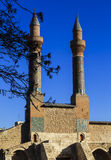 Cifte Minaret Madrasa - Double Minaret in Sivas Stock Photography