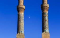 Cifte Minaret Madrasa - Double Minaret in Sivas Stock Photo