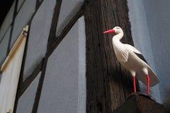 Cigüeña Alsatian Fotos de archivo