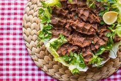 Cig kofte, Turecki jedzenie/ Zdjęcia Royalty Free