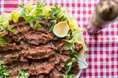 Cig kofte, Turecki jedzenie/ Zdjęcie Stock