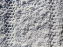 Cigano na neve em Fontecerro Rieti Italia Foto de Stock