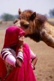 Ciganos em Jaisalmer, Índia Imagens de Stock Royalty Free