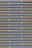 Cigar. Row of cigars as a background pattern Royalty Free Stock Images