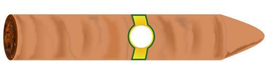 Cigar, Bitmap Royalty Free Stock Image