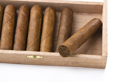 Cigar box Royalty Free Stock Photography
