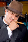 Cigar guy Stock Photos