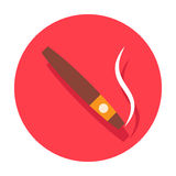 Cigar icon Royalty Free Stock Photo