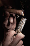 Cigar-lighter Royalty Free Stock Image