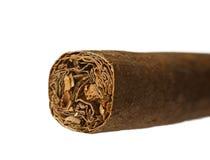 Cigar macro shot Stock Image