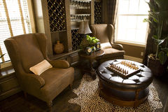 Cigar room 1630 Royalty Free Stock Photos