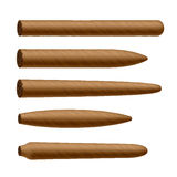 Cigar shapes Royalty Free Stock Image