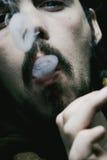 Cigar Smoker Stock Image