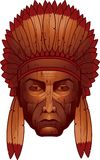 Cigar Store Indian Royalty Free Stock Image