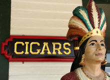 Free Cigar Store Indian Stock Image - 5725921