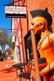 Cigar Store Indian at a Virginia Smoke Shop Stock Photo
