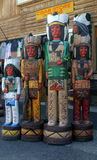 Cigar Store Indians Stock Images