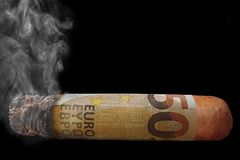 Cigar, Tobacco Products, Cigarette, Font Royalty Free Stock Photography
