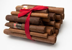 Cigares 1 de paquet Image libre de droits