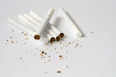Cigarets Obrazy Royalty Free