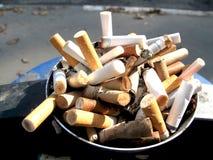 cigaretstumpar Arkivfoto