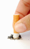 cigarett royaltyfria bilder