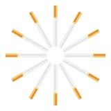 cigarett stock illustrationer