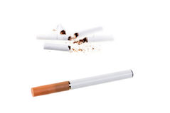 cigarett e Royaltyfri Foto
