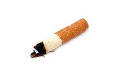Cigarett som röker begrepp Arkivbilder