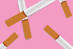 Cigarettbakgrundsvektor royaltyfri illustrationer