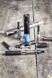 Cigarette électronique Images libres de droits