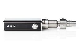 Cigarette électronique d'isolement sur le blanc Photographie stock libre de droits