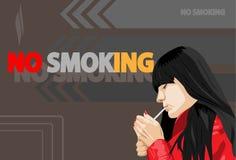 Cigarette illustration libre de droits