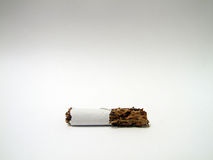 Cigarette. Stripped ciggarette Royalty Free Stock Photography
