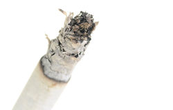 Cigarette ash Royalty Free Stock Photos