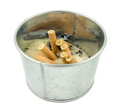 Cigarette ash tray Stock Photography