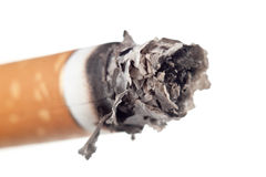 Cigarette ashes Royalty Free Stock Images