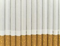 Cigarette background Stock Photos