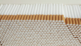 Cigarette Background Royalty Free Stock Photos
