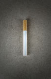 Cigarette on board. Only one Stock Images