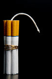 Cigarette Bomb Stock Photos