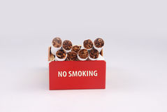 Cigarette box Royalty Free Stock Photo