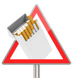 The cigarette box Royalty Free Stock Photography